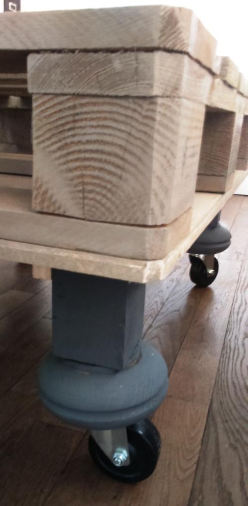 détails pieds de table basse le bazar de milipuce