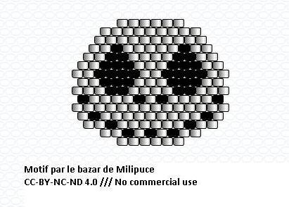 diagramme Jack Skellington par le bazar de milipuce