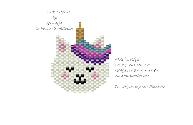 chat licorne