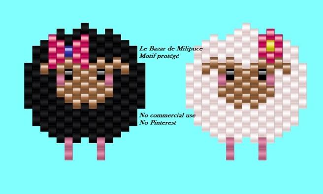 mouton noir le bazar de milipuce